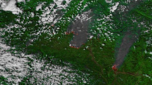 Canada: des milliers d'évacués dans les incendies en Colombie-Britannique