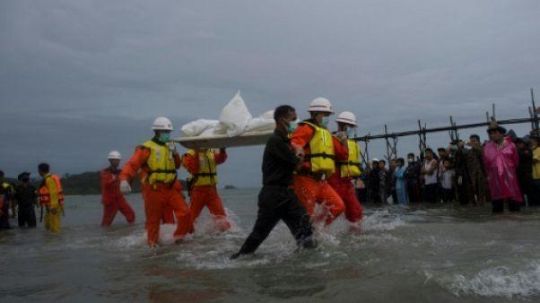 Birmanie: le mauvais temps à l'origine du crash de l'avion début juin