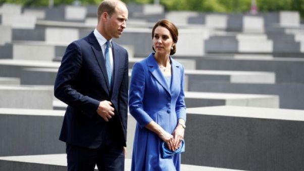 """Kate et William en mission diplomatique """"de charme"""" en Allemagne"""