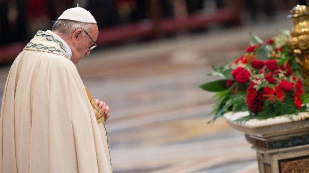 Papa, preghiamo per vittime mafia