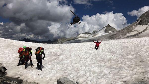Trovato morto alpinista disperso