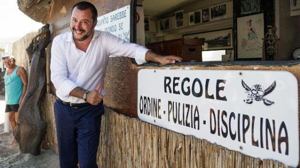 Governo: Salvini, al voto subito