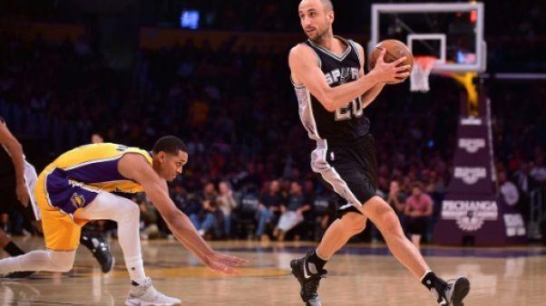 NBA: à 40 ans, Ginobili repart pour une saison chez les Spurs