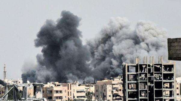 Syrie: au moins 30 civils tués dans des frappes anti-EI