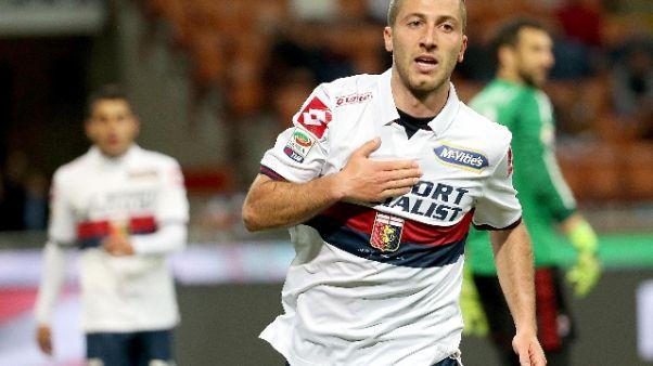Genoa, test in famiglia, bene Bertolacci