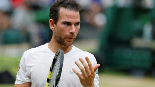 Tennis: Mannarino tombe d'entrée à Newport, Herbert en quarts