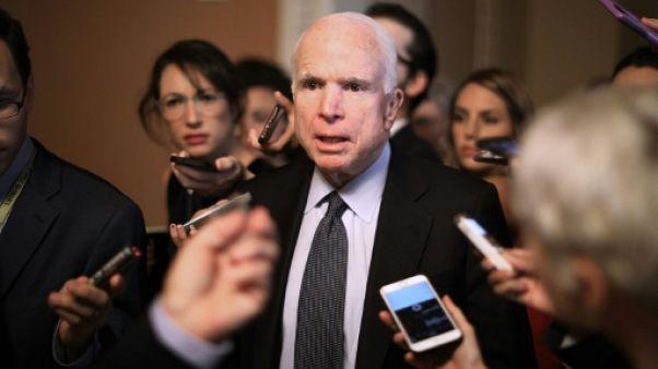 Le sénateur américain John McCain atteint d'un cancer du cerveau