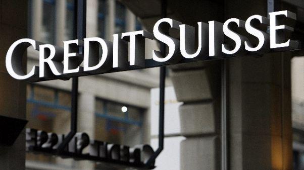 Credit Suisse,Gdf cerca titolari polizze