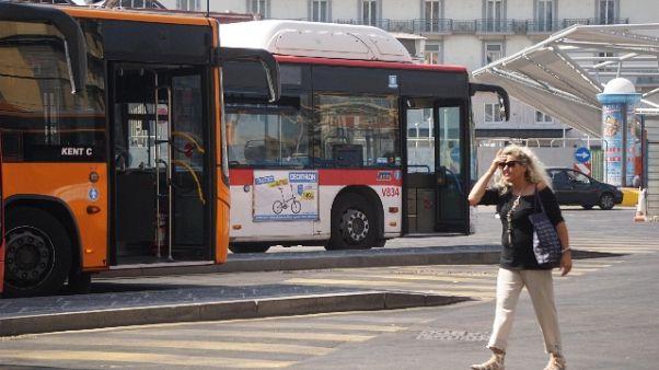 """Trasporti, bus e metro """"a singhiozzo"""""""