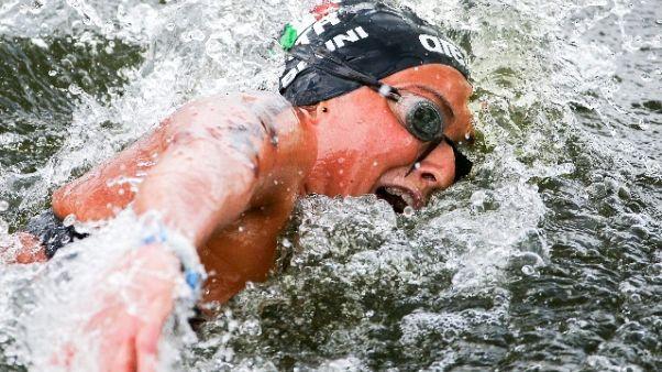 Mondiali: 5 km a squadre, bronzo Italia
