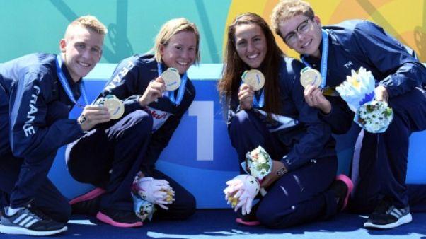 Natation: trois titres, cinq médailles, le cocktail gagnant de l'eau libre