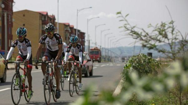Cyclisme: en Ethiopie, le rêve de réfugiés érythréens