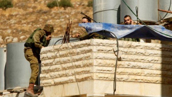Cisjordanie: tentative d'attaque contre des soldats israéliens, l'assaillant tué