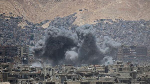 Embuscade rebelle près de Damas, 28 combattants du régime tués selon l'OSDH