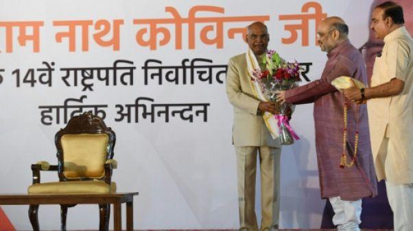 Inde: le dalit Ram Nath Kovind élu président