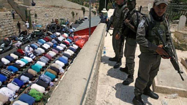 Esplanade des Mosquées: Israéliens et Palestiniens se préparent à une épreuve de force