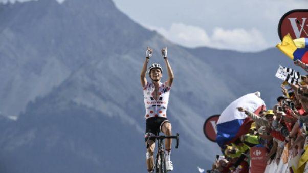 Tour de France: Barguil gagne, Froome résiste dans l'Izoard