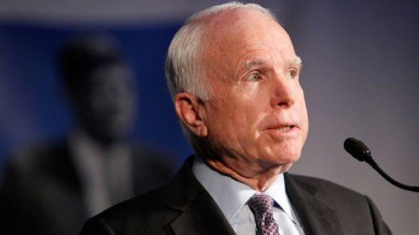 Le cancer du sénateur John McCain a l'un des plus faibles taux de survie