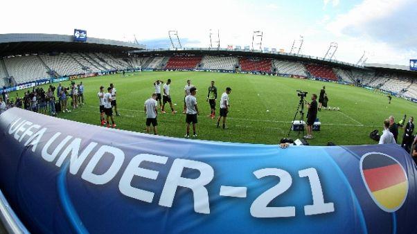 Finale Euro U.21 nel 2019 a Udine
