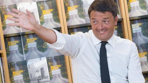 Governo: Renzi, onore armi a Costa