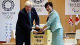 Ex-London mayor Johnson gives Japan Olympics advice