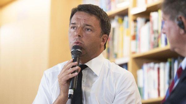 Renzi, alzare salari è l'elemento chiave