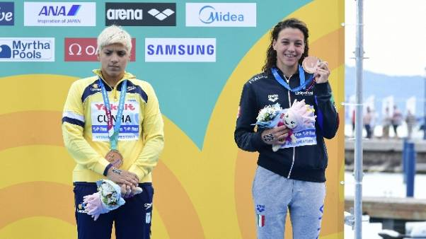 Mondiali nuoto:25 km donne, bronzo Bridi