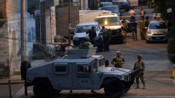 Huit trafiquants tués par la police dans une rare fusillade à Mexico
