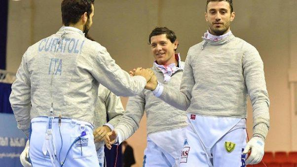 Mondiali: Curatoli vince derby sciabola