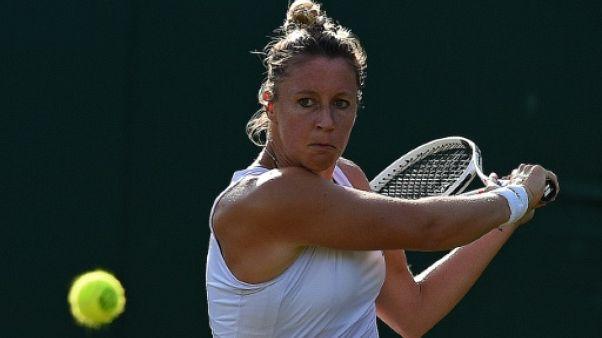 Tennis: Pauline Parmentier battue en quarts à Bucarest