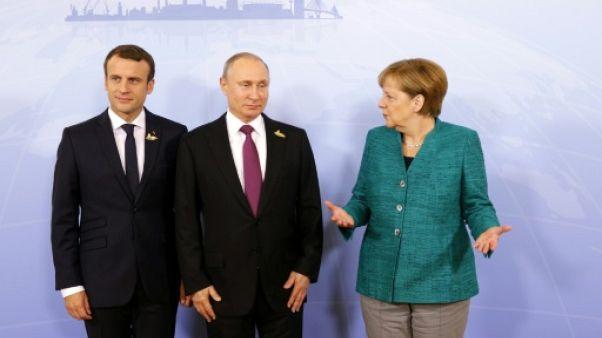 Ukraine: entretien téléphonique lundi entre Berlin, Paris, Kiev et Moscou
