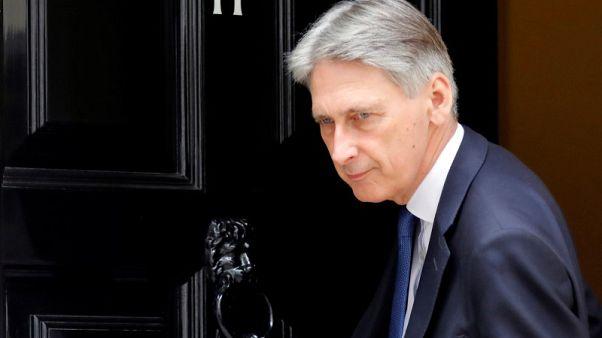 Hammond told Goldman Sachs he wants long Brexit transition - source