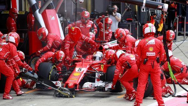 """Pirelli, Vettel vittima """"foratura lenta"""""""