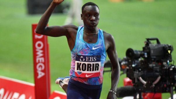 Athlétisme: MPM pour Korir sur 800 m, les minima pour Bosse, 4e