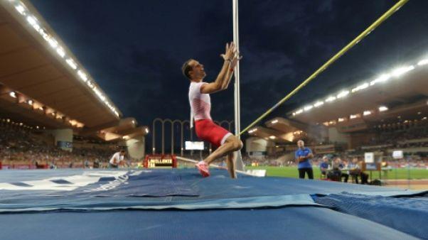 Athlétisme: Lavillenie seulement 5e à Monaco