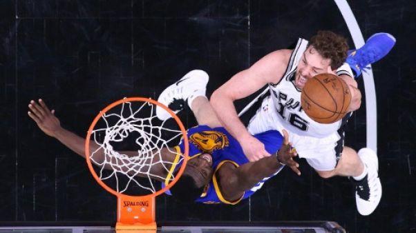 NBA: Gasol va signer un nouveau contrat avec les Spurs