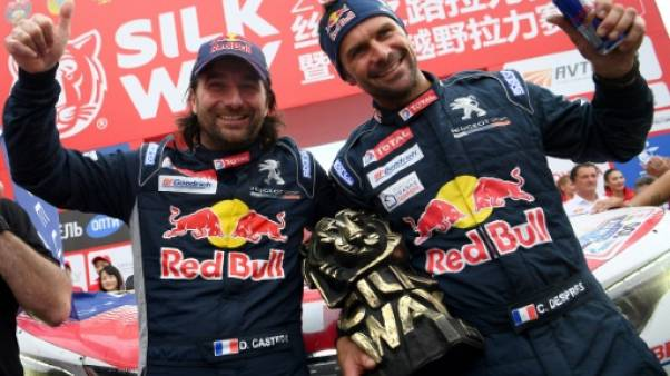 Rallye Silk Way-2017: le vainqueur Cyril Despres fêté en Chine