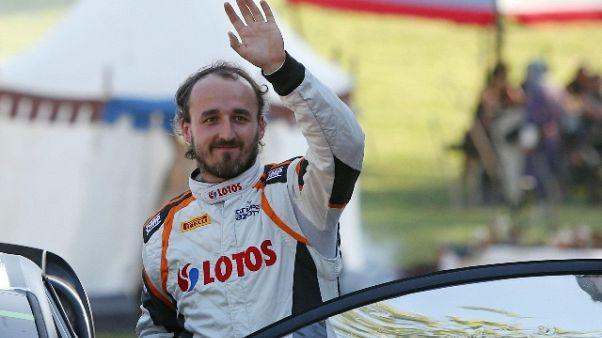 F1:in Ungheria Kubica proverà la Renault