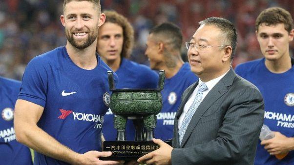 Calcio: Chelsea travolge Arsenal