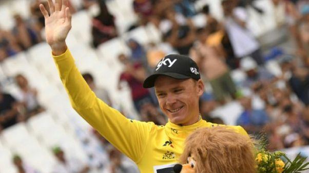 """Tour de France: Froome salue """"le Tour le plus serré"""""""