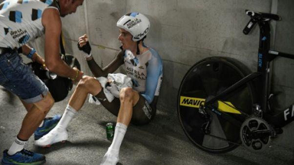 Tour de France: Romain Bardet, à bout de force