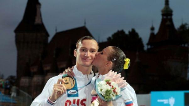 Natation synchronisée: la Russie termine sur un nouveau titre en duo mixte libre