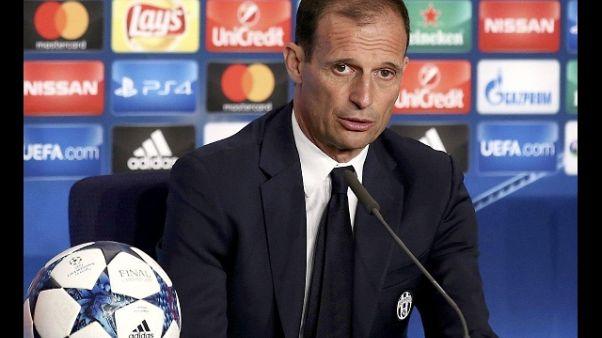 "Juve-Barca: Allegri ""Ottimo test"""