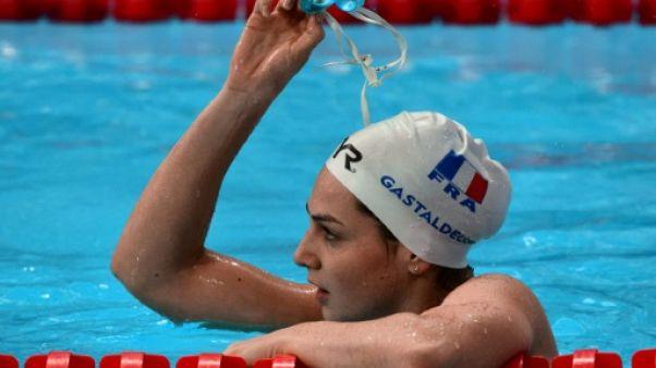 Natation: Gastaldello éliminée dès les séries du 100 m papillon