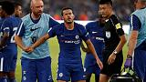 Chelsea's Pedro leaves pre-season tour after suffering concussion