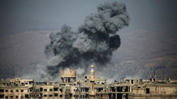 Syrie: le régime bombarde un fief rebelle malgré la trève