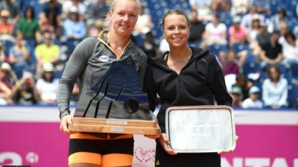 Tennis: sacrée en simple à Gstaad, Kiki Bertens en lice pour remporter le double