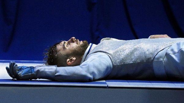 Scherma: Garozzo semifinale fioretto