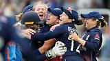 England win Women's World Cup in thrilling finish