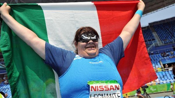 Atletica: oro mondiale per la Legnante